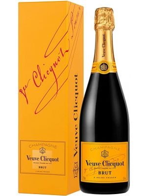 Veuve Clicquot Yellow Label Brut Giftbox