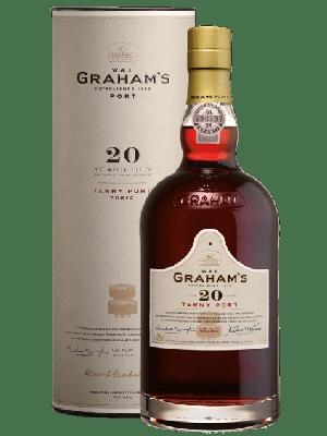 Graham's 20 Year Old Tawny Port in luxe doos