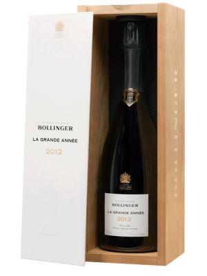 Bollinger La Grande Année Brut 2012 (in luxe houten kist)