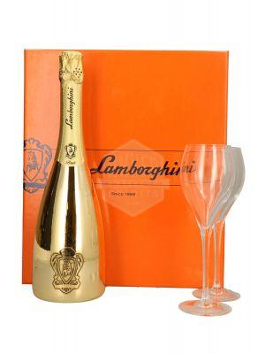 Giftbox Lamborghini Brut Spumante Gold