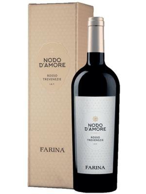 Nodo d'Amore Rosso Trevenezie 2018 in luxe geschenkdoos
