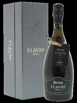 Rotari Flavio Riserva 2009 in fraaie geschenkverpakking