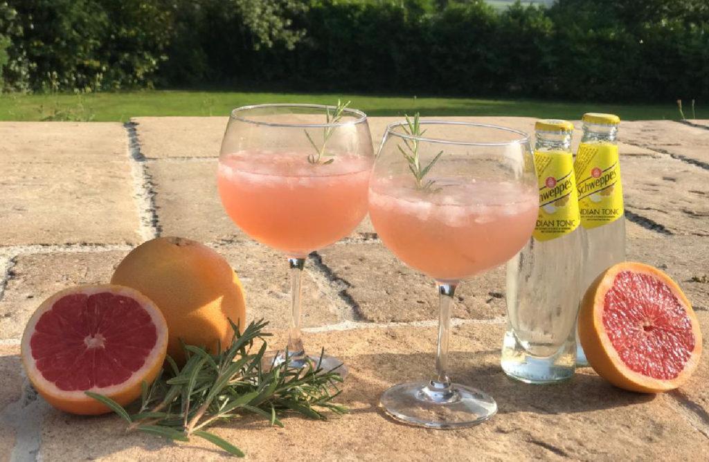 Unieke Zomerse Provence rosé Cocktail